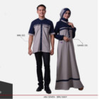 Baju Couple Mutif Series 19 Navy – Abu Semen