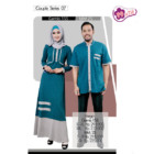 Baju Couple Mutif Series 07 Hijau Denim